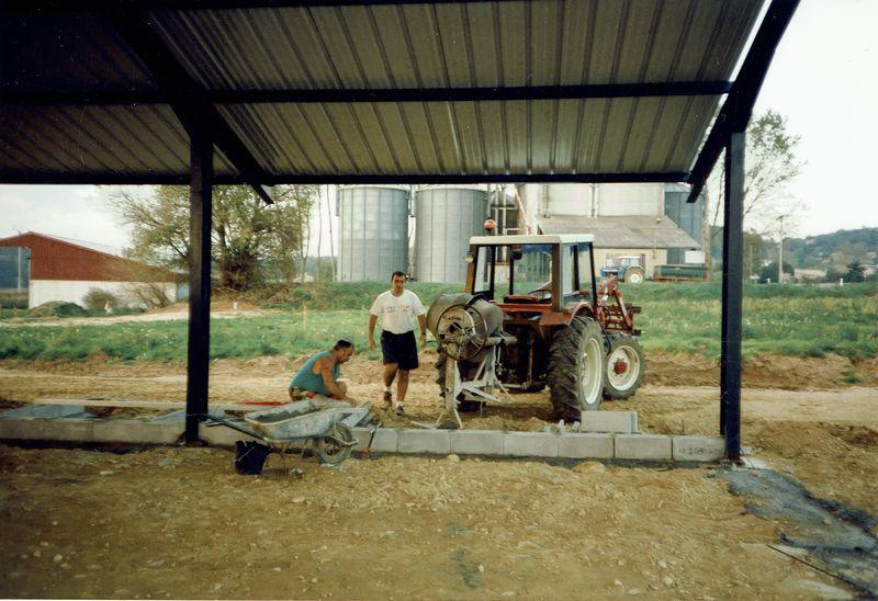 Construction de l'agence de Montmeyran